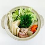 かっけの水炊き鍋 (1)