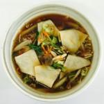 ペラペラかっけワンタン風スープ